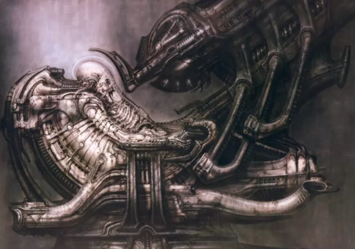 Giger Art Work - Original